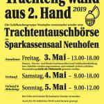 Interessanter Ausflugstipp: Trachteng´wand aus 2. Hand in Neuhofen